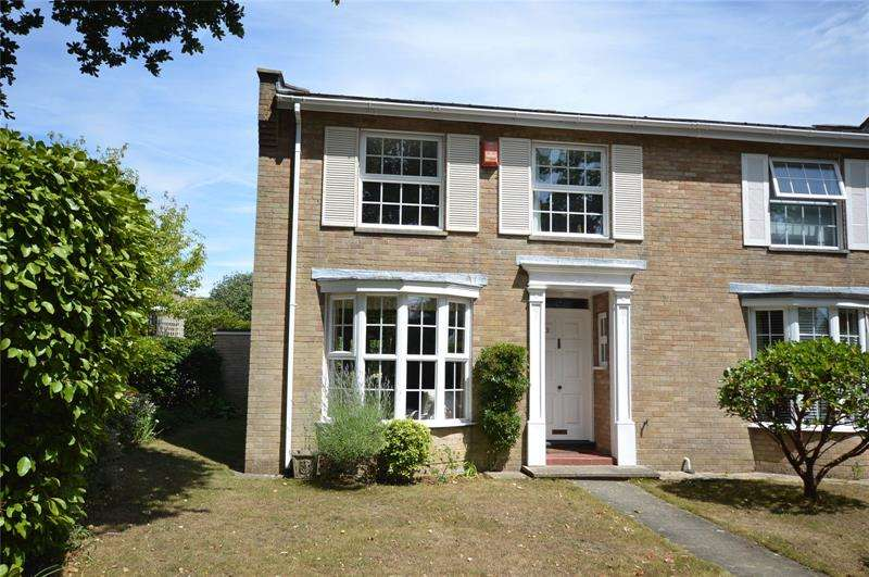 4 Bedrooms End Of Terrace House for sale in Leelands, Pennington, Lymington, Hampshire, SO41