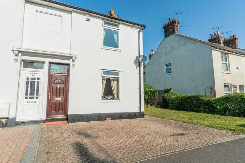 3 Bedrooms Semi Detached House for sale in Albemarle Road, Willesborough, Ashford, Kent, TN24 0HH