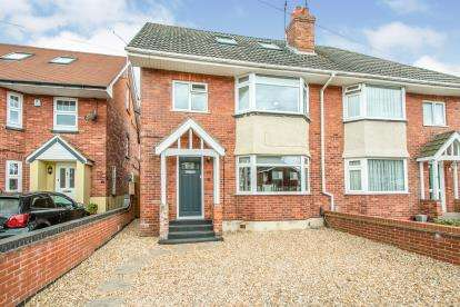 4 Bedrooms Semi Detached House for sale in Ensbury Park, Bournemouth, Dorset