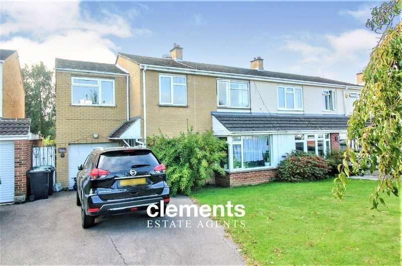 4 Bedrooms Semi Detached House for sale in Chambersbury Lane, Hemel Hempstead