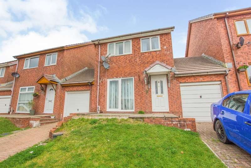 3 Bedrooms Detached House for sale in Oak View, Blaenavon, Pontypool