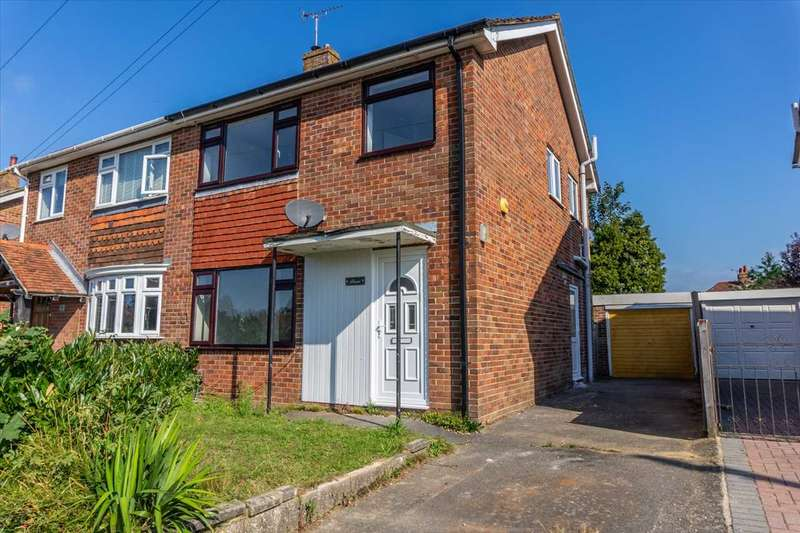 3 Bedrooms Semi Detached House for sale in Wickenden Crescent, Willesborough, Ashford, Kent, TN24 0JL