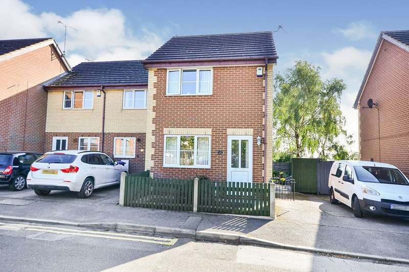 2 Bedrooms End Of Terrace House for sale in New Street, Kirkby-in-Ashfield, Nottingham, NG17