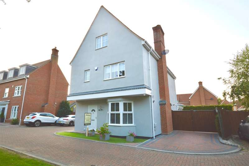 5 Bedrooms Detached House for sale in Quilberry Drive, Braintree, CM77