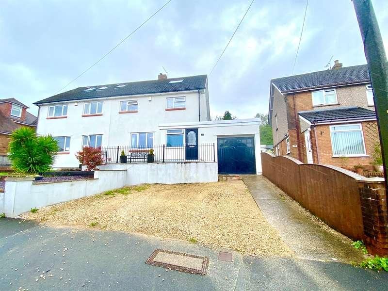 4 Bedrooms Semi Detached House for sale in Ridgeway Park Road, NEWPORT