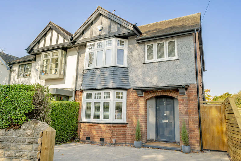 3 Bedrooms Semi Detached House for sale in Devonshire Road, West Bridgford, NG2 6EU