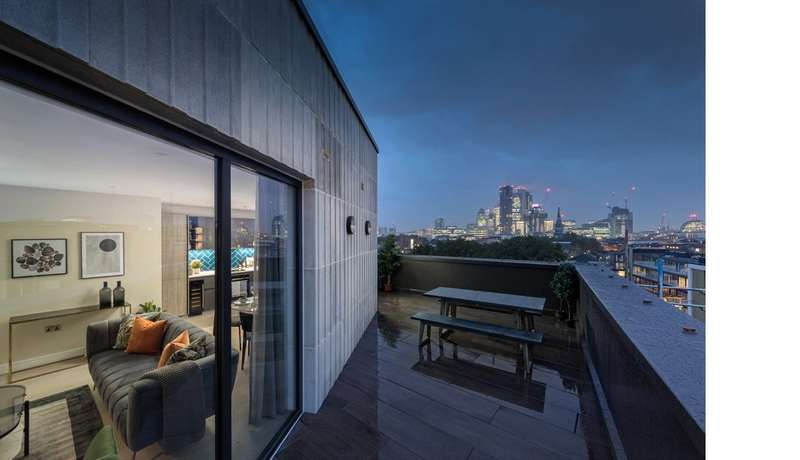 3 Bedrooms Apartment Flat for sale in Shoreditch Exchange, Hackney Road,, London, E2