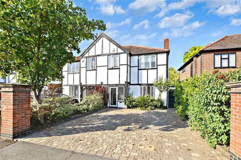 4 Bedrooms Semi Detached House for sale in Blendon Road, Bexley, Kent, DA5