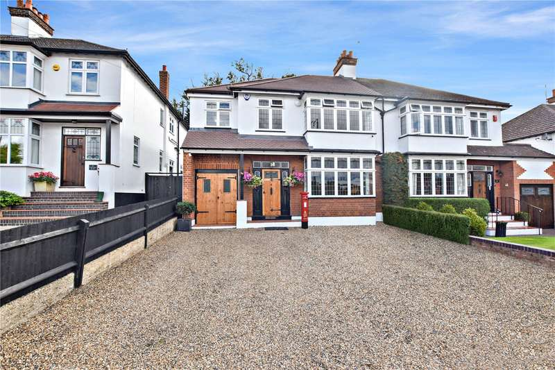 4 Bedrooms Semi Detached House for sale in Parkhill Road, Bexley Village, Kent, DA5