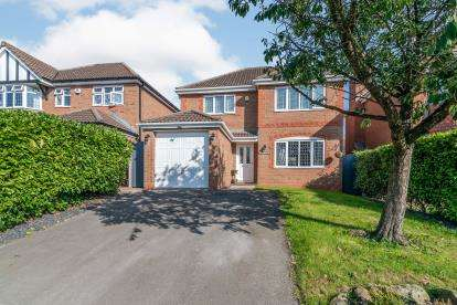 4 Bedrooms Detached House for sale in Marsham Road, Westhoughton, Bolton, Greater Manchester, BL5