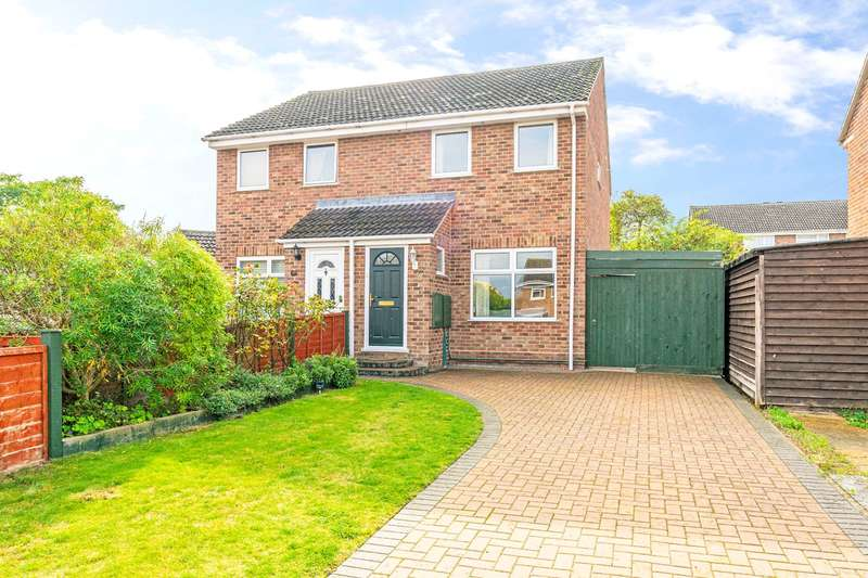 2 Bedrooms Semi Detached House for sale in Greengage Rise, Melbourn, SG8
