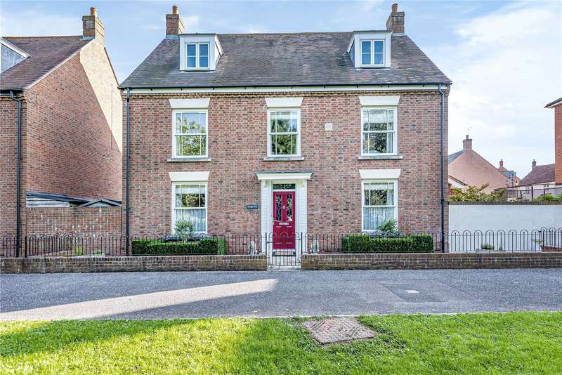 5 Bedrooms Detached House for sale in Streamside, Taunton, Somerset, TA1