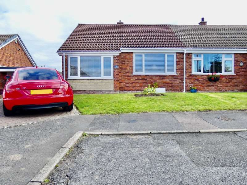 2 Bedrooms Bungalow for sale in Heath Avenue, Killamarsh, Sheffield, Derbyshire, S21
