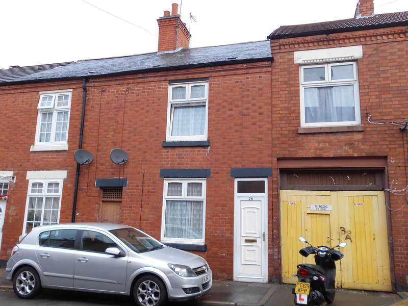 3 Bedrooms Terraced House for sale in Flax Road, Leicester, LE4