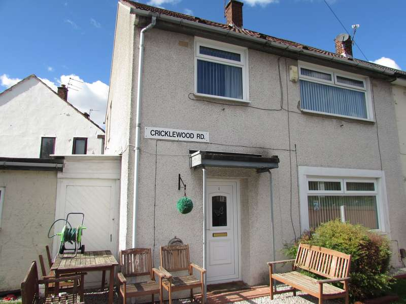 3 Bedrooms Semi Detached House for sale in Cricklewood Road, Manchester, M22