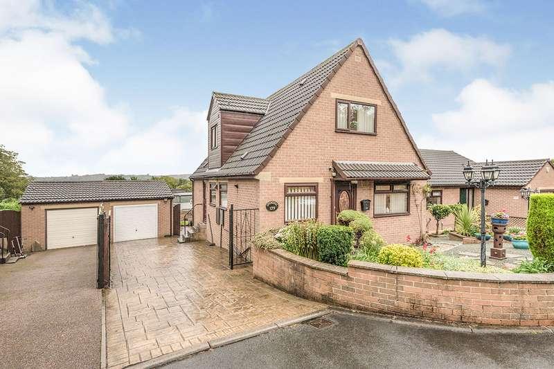 3 Bedrooms Detached House for sale in Norristhorpe Lane, Liversedge, West Yorkshire, WF15