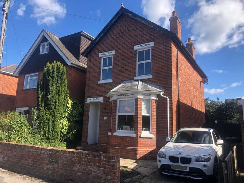 3 Bedrooms Detached House for sale in SCOTTER ROAD, BISHOPSTOKE, EASTLEIGH, HAMPSHIRE, SO50 6AJ