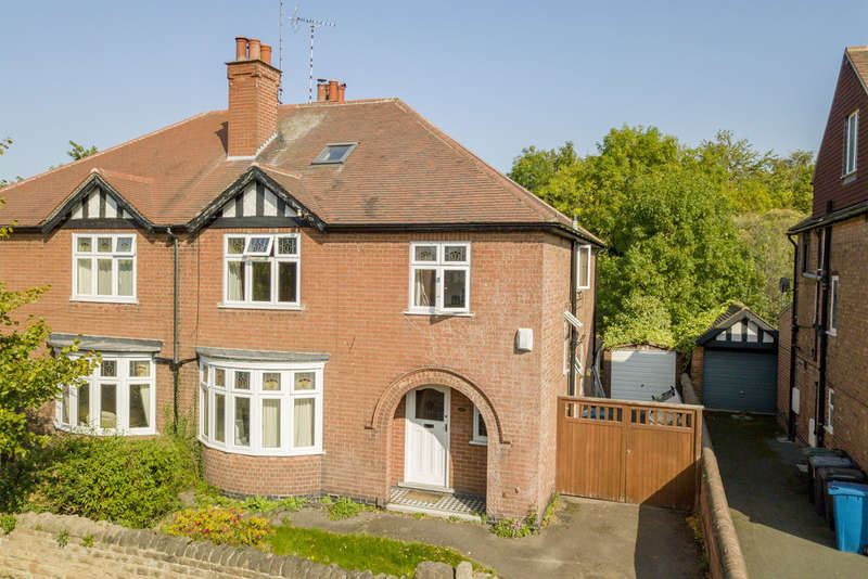 4 Bedrooms Semi Detached House for sale in Selby Road, West Bridgford, NG2 7BP