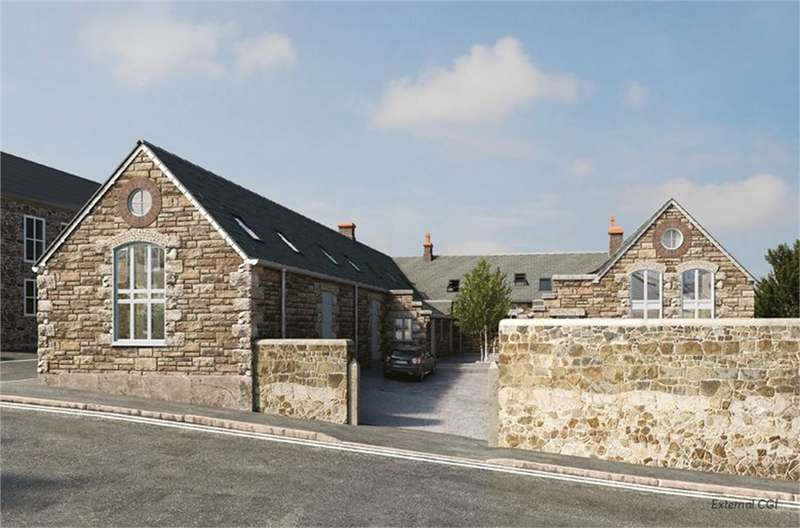 2 Bedrooms End Of Terrace House for sale in St Pauls Old School House, Taroveor Road, PENZANCE, Cornwall