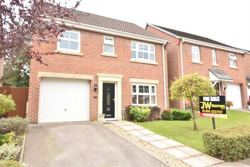 4 Bedrooms Detached House for sale in Cwm Braenar, Pontllanfraith, Blackwood, Caerphilly