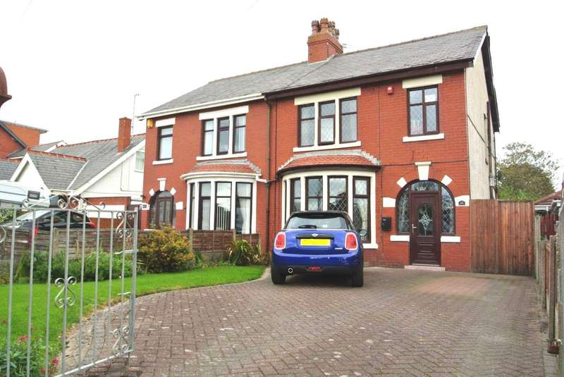 4 Bedrooms Semi Detached House for sale in St Annes Road, Blackpool, FY4 2EF