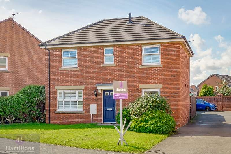 3 Bedrooms Detached House for sale in Redfield Croft, Leigh, Greater Manchester. WN7 1EN