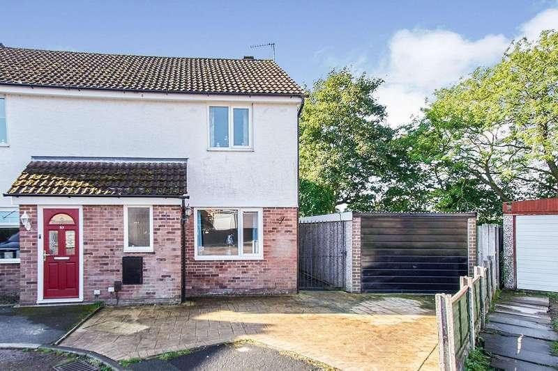 2 Bedrooms Semi Detached House for sale in Longbrook Avenue, Bamber Bridge, Preston, PR5