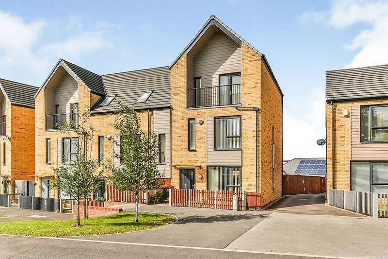 4 Bedrooms End Of Terrace House for sale in Frank Wright Close, Sheffield, South Yorkshire, S2