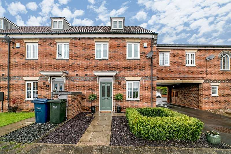 3 Bedrooms End Of Terrace House for sale in Dunns Way, Blaydon-on-Tyne, Tyne and Wear, NE21
