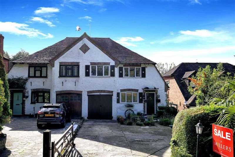 3 Bedrooms Semi Detached House for sale in Wellington Road, High Beech, Essex