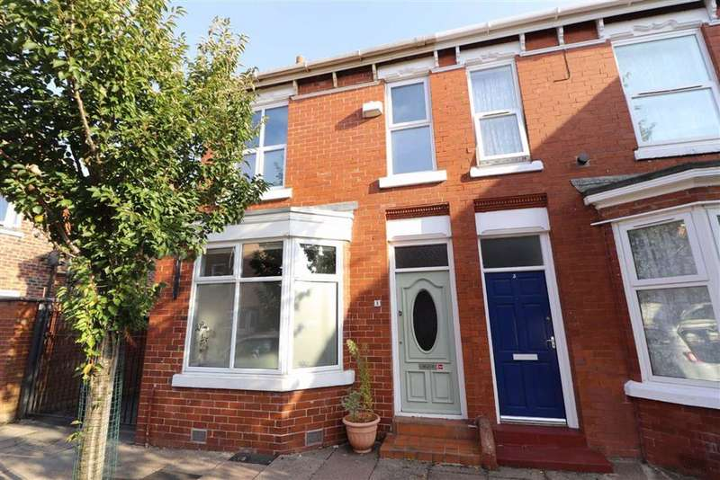 3 Bedrooms End Of Terrace House for sale in Khartoum Street, Old Trafford, Trafford, M16