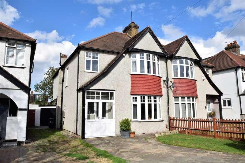 4 Bedrooms Semi Detached House for sale in Eden Park Avenue, Beckenham