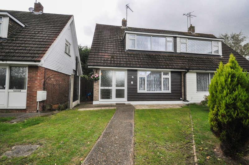 2 Bedrooms Semi Detached House for sale in Kingsley Crescent, Benfleet