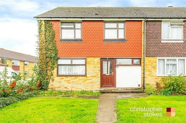 3 Bedrooms End Of Terrace House for sale in Russells Ride, Cheshunt, Hertfordshire