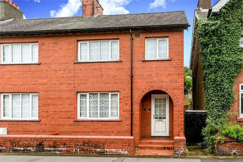3 Bedrooms End Of Terrace House for sale in Sackville Road, Bangor, LL57