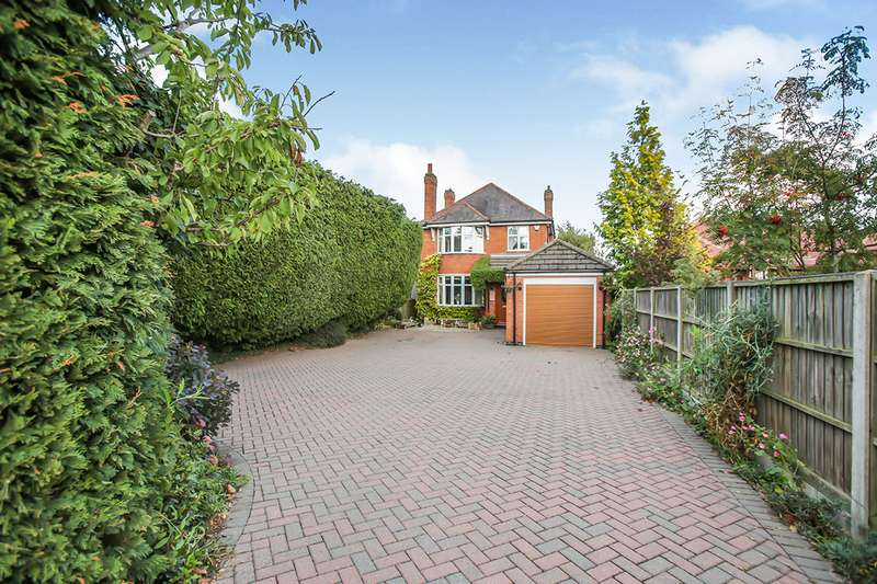 4 Bedrooms Detached House for sale in Ashby Road, Hinckley, Leicestershire, LE10
