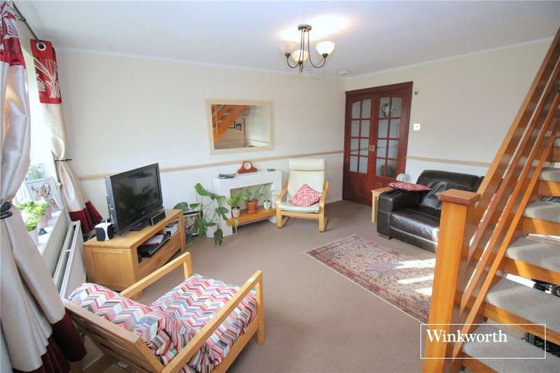 2 Bedrooms Terraced House for sale in Danziger Way, Borehamwood, Hertfordshire, WD6