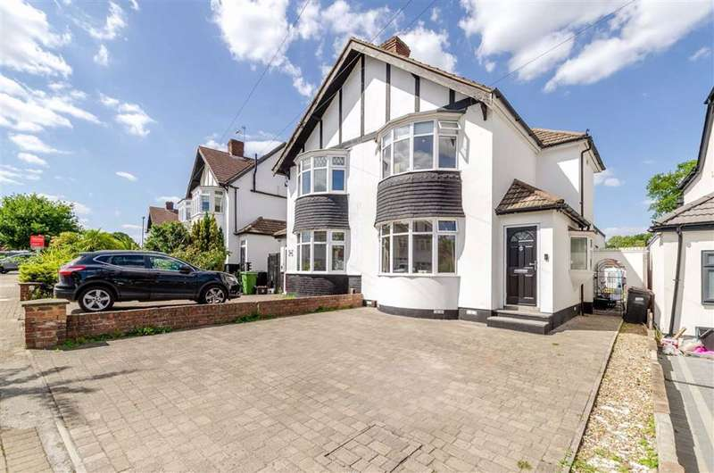 2 Bedrooms Semi Detached House for sale in Crescent Drive, Petts Wood, Kent