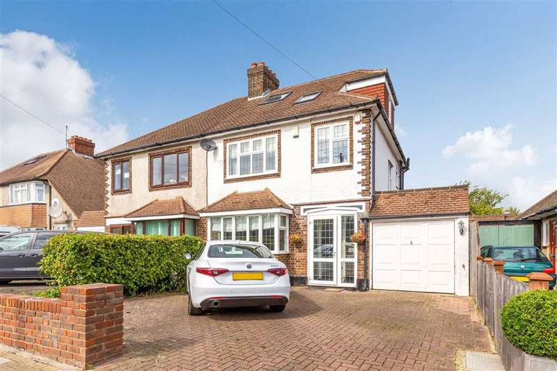 4 Bedrooms Semi Detached House for sale in Hilldown, Hayes
