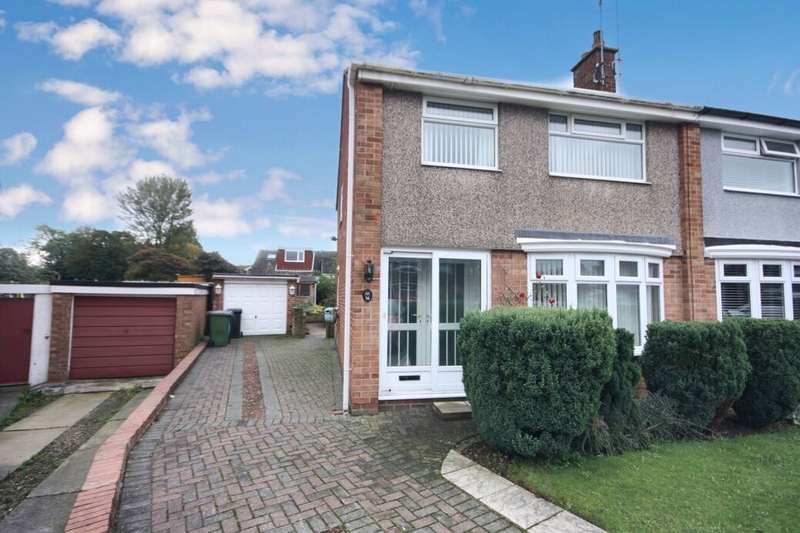 3 Bedrooms Semi Detached House for sale in Baysdale Close, Guisborough, TS14