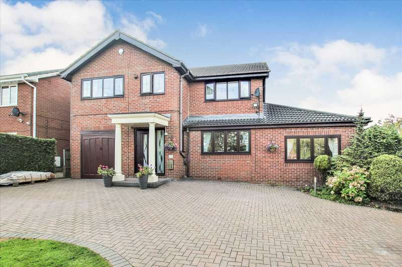 4 Bedrooms Detached House for sale in New Field Court, Westhoughton