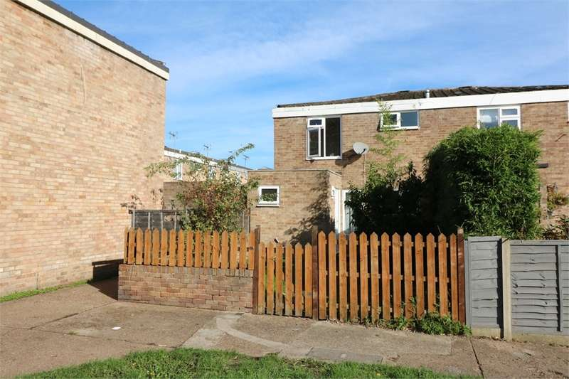 3 Bedrooms End Of Terrace House for sale in Lawrance Gardens, Cheshunt, Waltham Cross, Hertfordshire