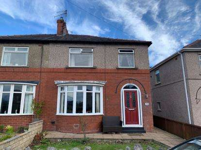 3 Bedrooms Semi Detached House for sale in Sulby Drive, Lancaster, Lancashire, LA1