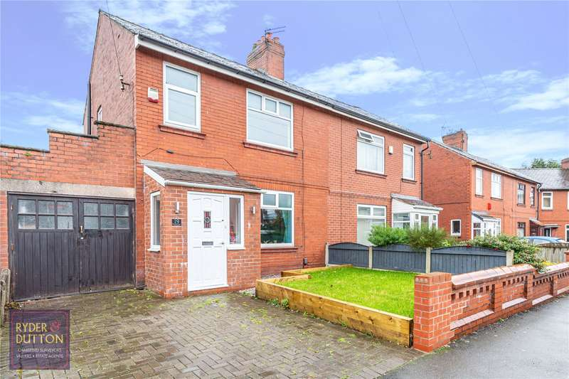 3 Bedrooms Semi Detached House for sale in Thatch Leach, Chadderton, Oldham, OL9