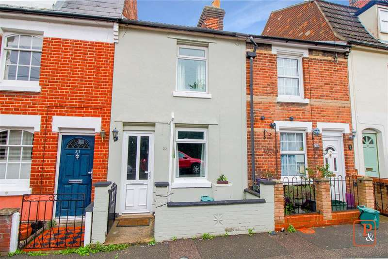 2 Bedrooms Terraced House for sale in Charles Street, Newtown, Colchester CO1