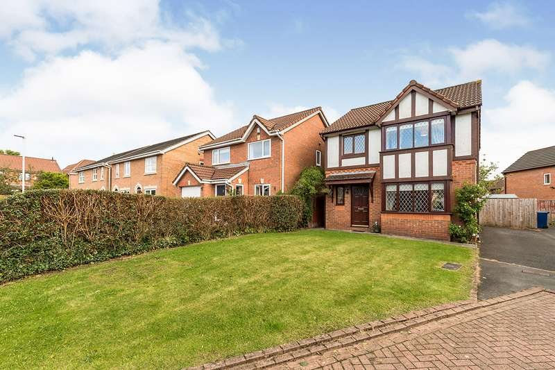 3 Bedrooms Detached House for sale in Lowesby Close, Walton-le-Dale, Preston, PR5