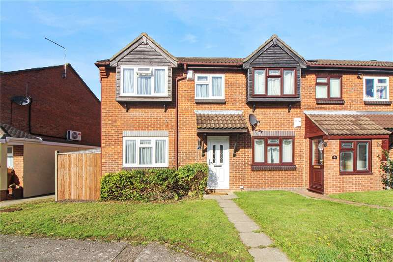 3 Bedrooms End Of Terrace House for sale in Stag Road, Lordswood, Kent, ME5
