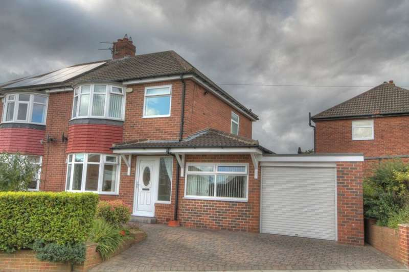 3 Bedrooms Semi Detached House for sale in Styford Gardens, South West Denton, Newcastle Upon Tyne, NE15