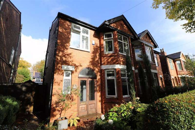 4 Bedrooms Semi Detached House for sale in College Drive, Whalley Range, Manchester, M16