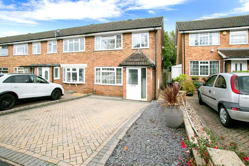 3 Bedrooms End Of Terrace House for sale in Porter Road, Brighton Hill, Basingstoke, RG22